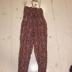 Forever 21 - Floral Full Body Suit